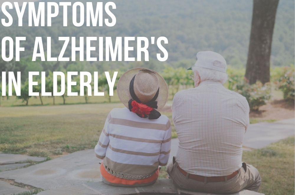 symptoms of alzheimer's in elderly