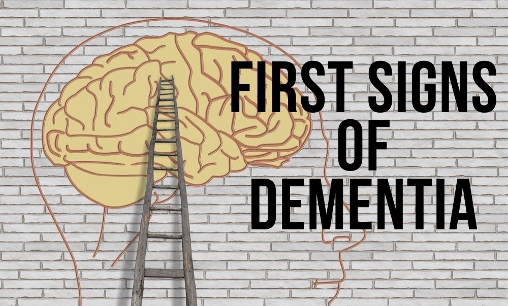 first signs of dementia