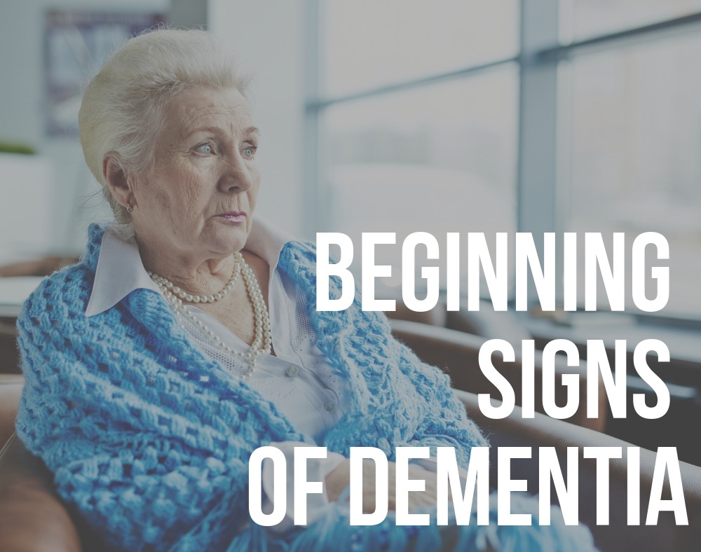 beginning signs of dementia