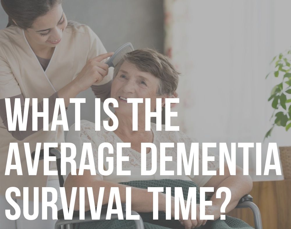 average dementia survival