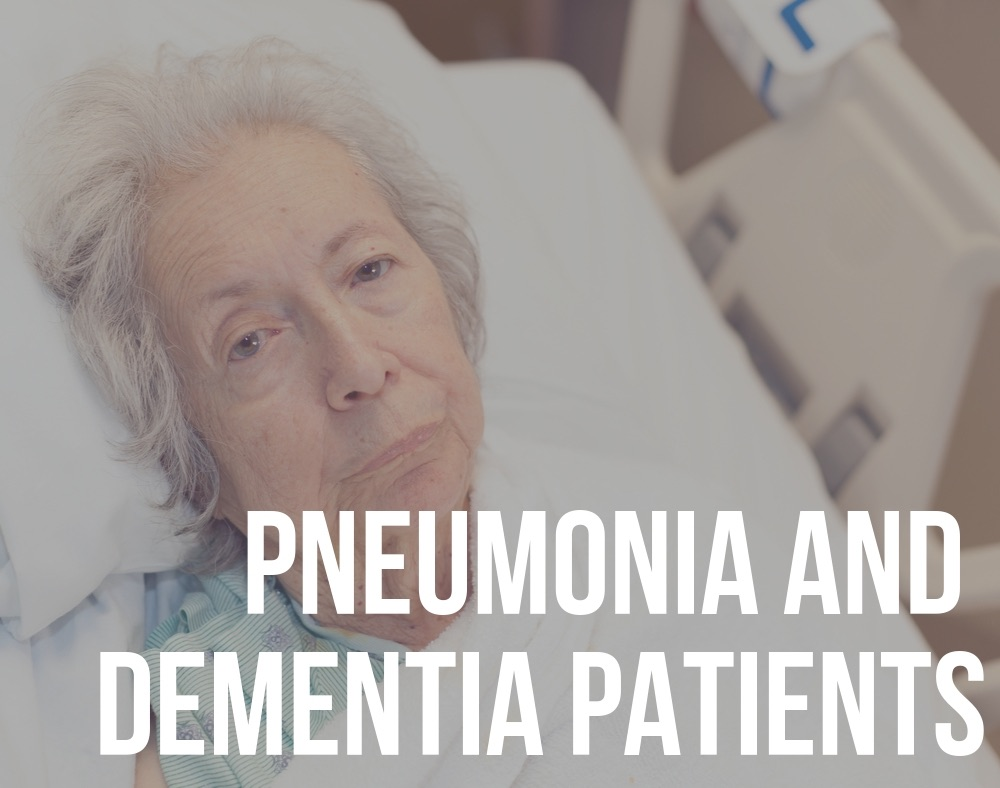 pneumonia and dementia