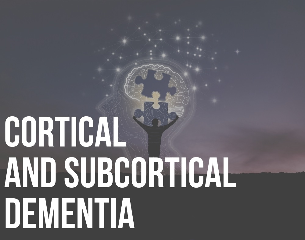 cortical and subcortical dementia