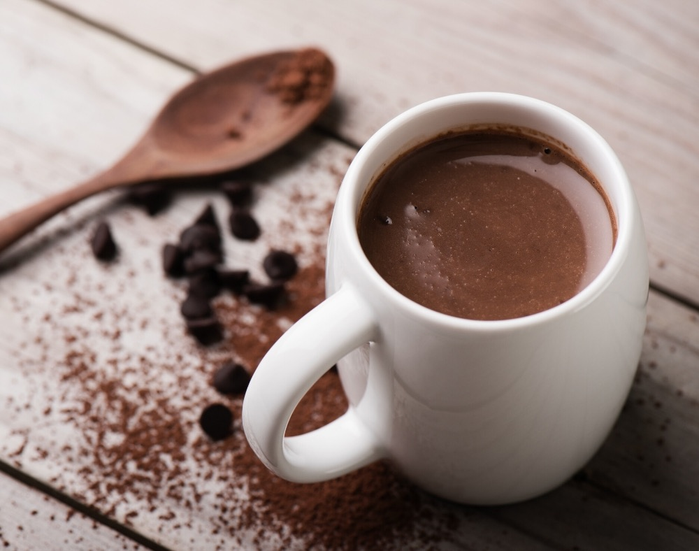 a study on drinking hot chocolate