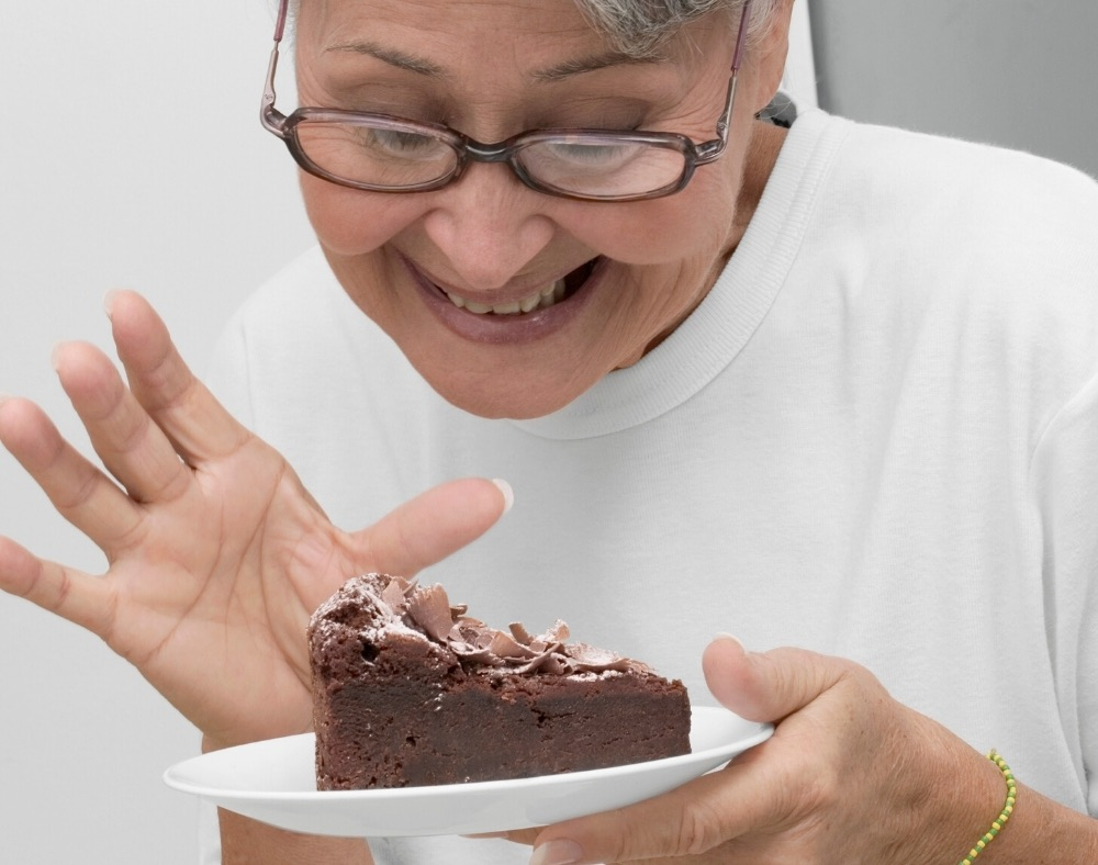 chocolate offering a calming effect to persons with dementia