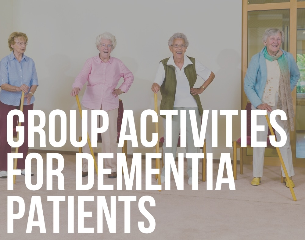 group activities for dementia patients
