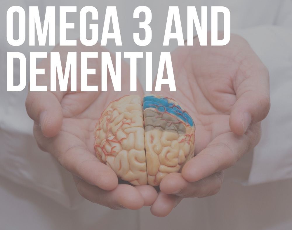 omega 3 and dementia