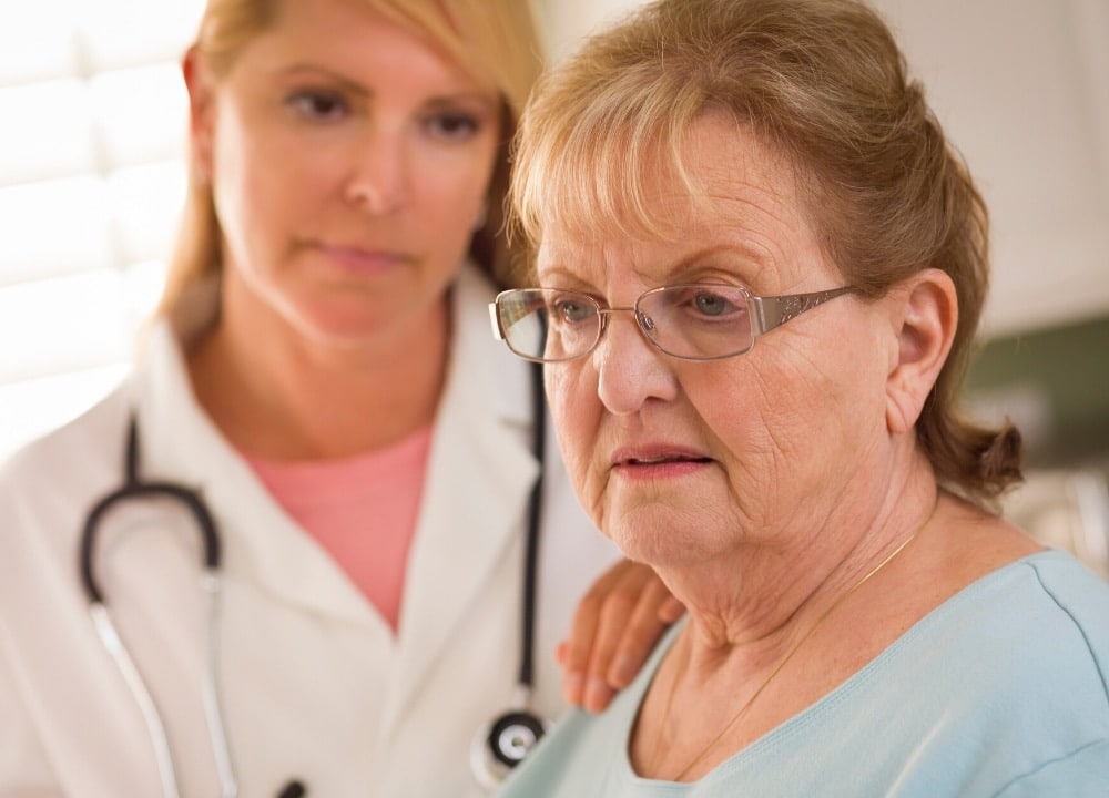 signs of neurologic disorders and dementia