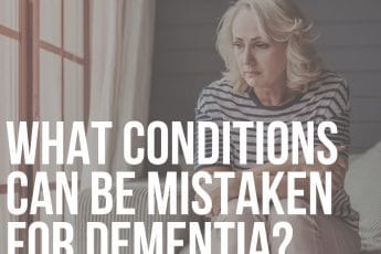 what conditions can be mistaken for dementia