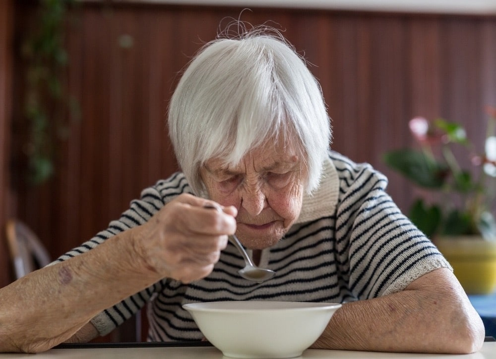 how to help a dementia patient eat less