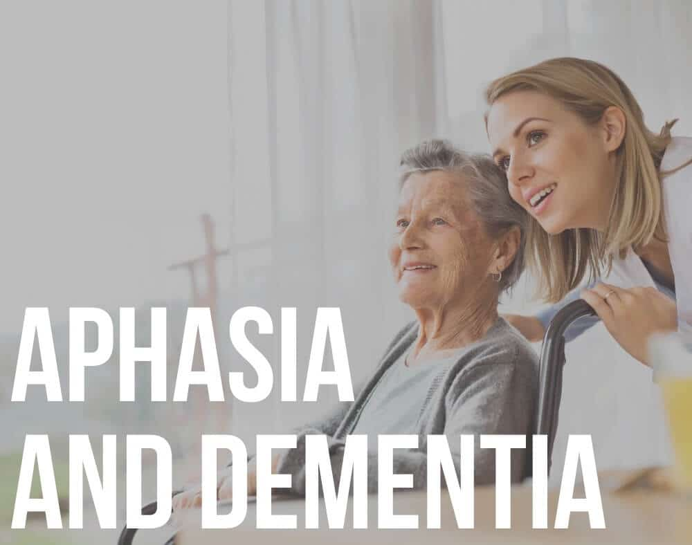 aphasia and dementia