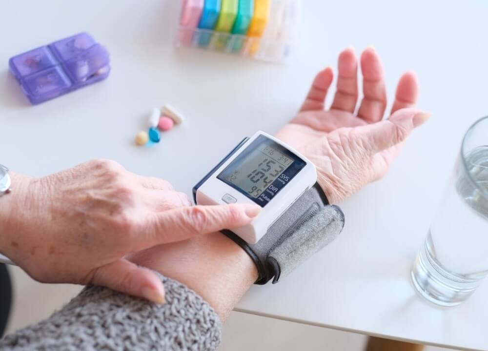hypertension medication and dementia