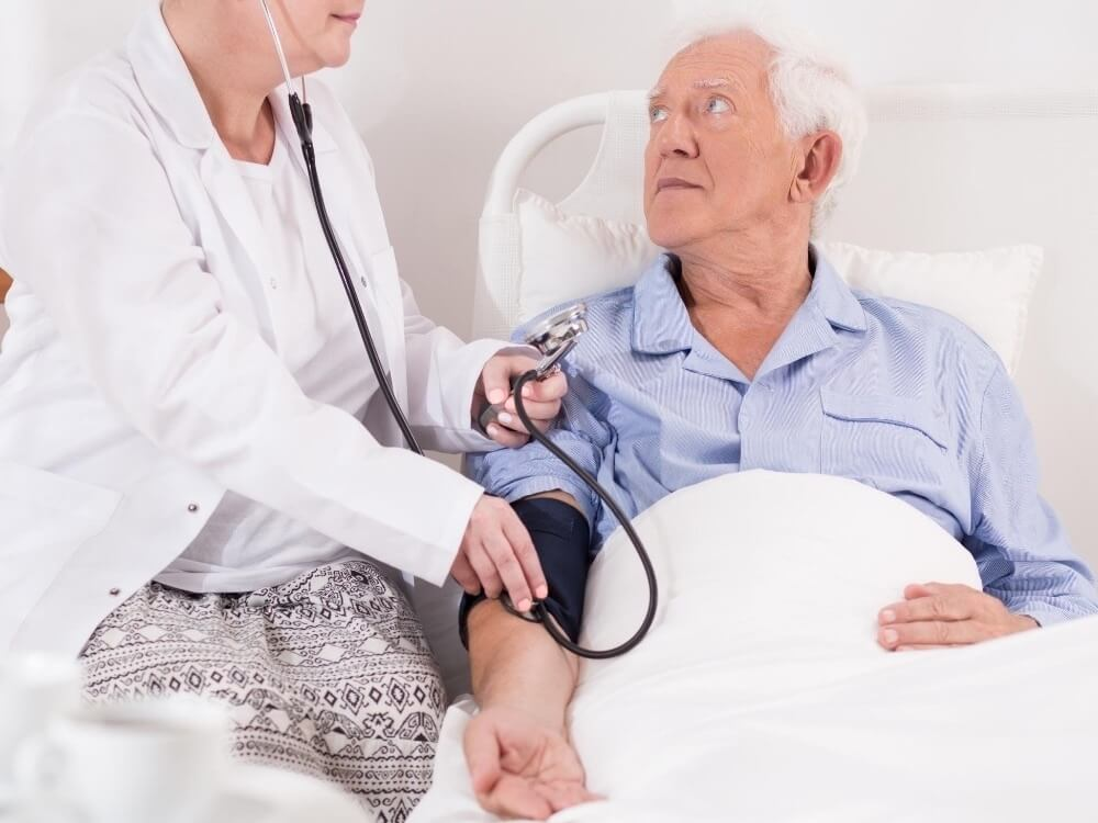 research on dementia and high blood pressure