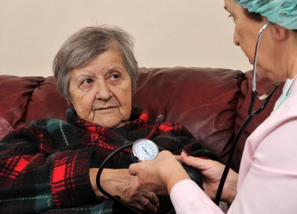 women with high blood pressure are more like to get dementia