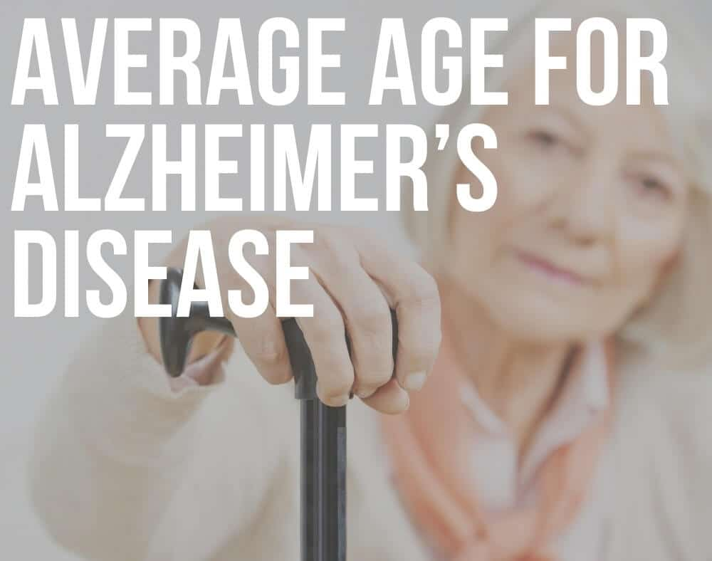 average age for alzheimer's disease