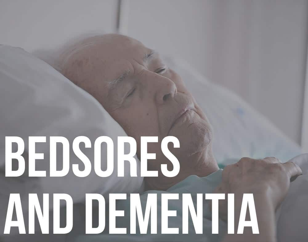 bedsores and dementia