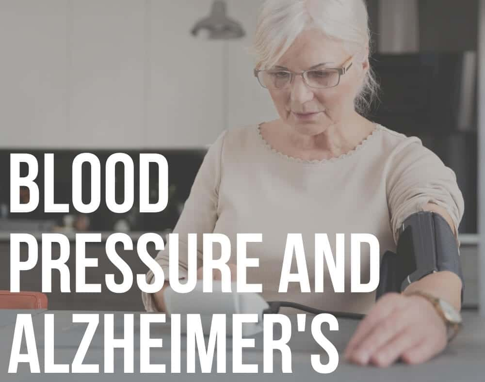 blood pressure and alzheimer's