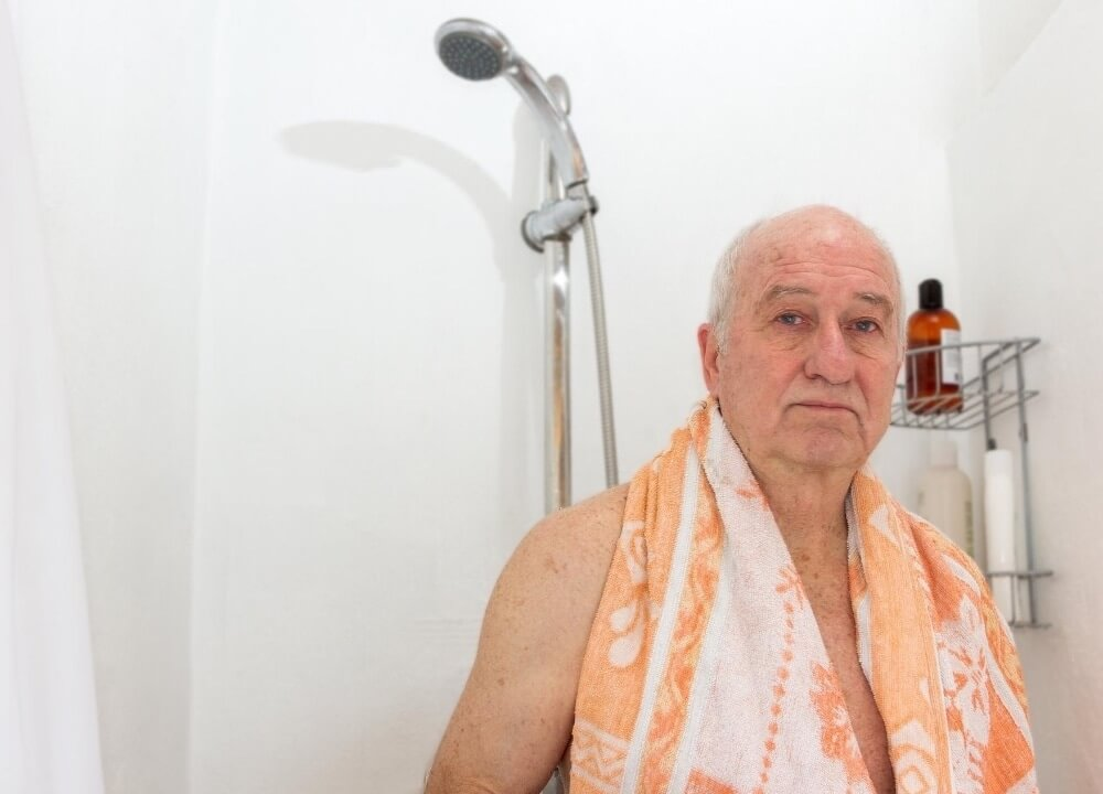 how often should elders shower