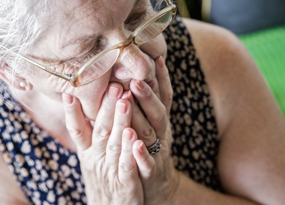 dementia patients having problems with swallowing