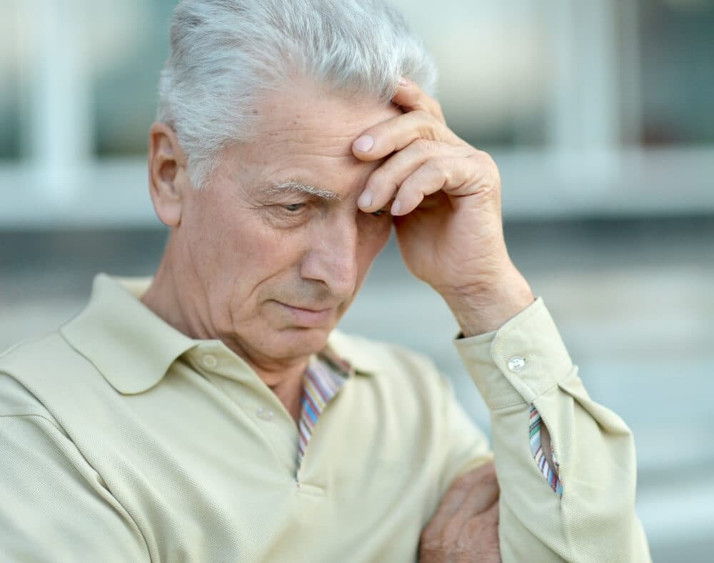 negative thinking anxiety depression can promote dementia development