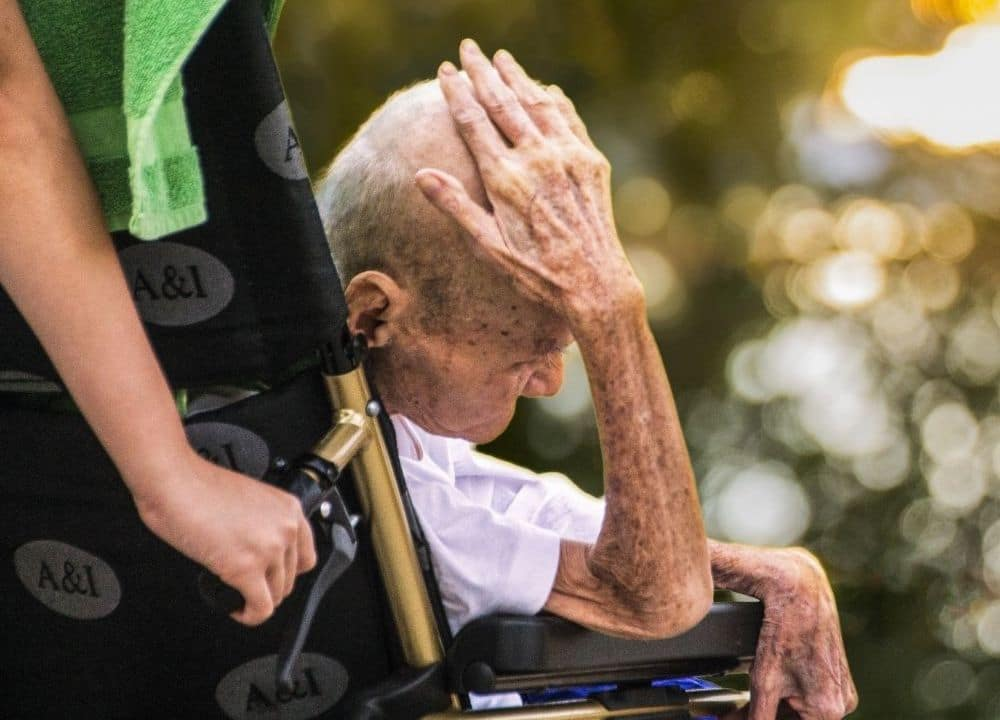 causes of agitation in persons with dementia