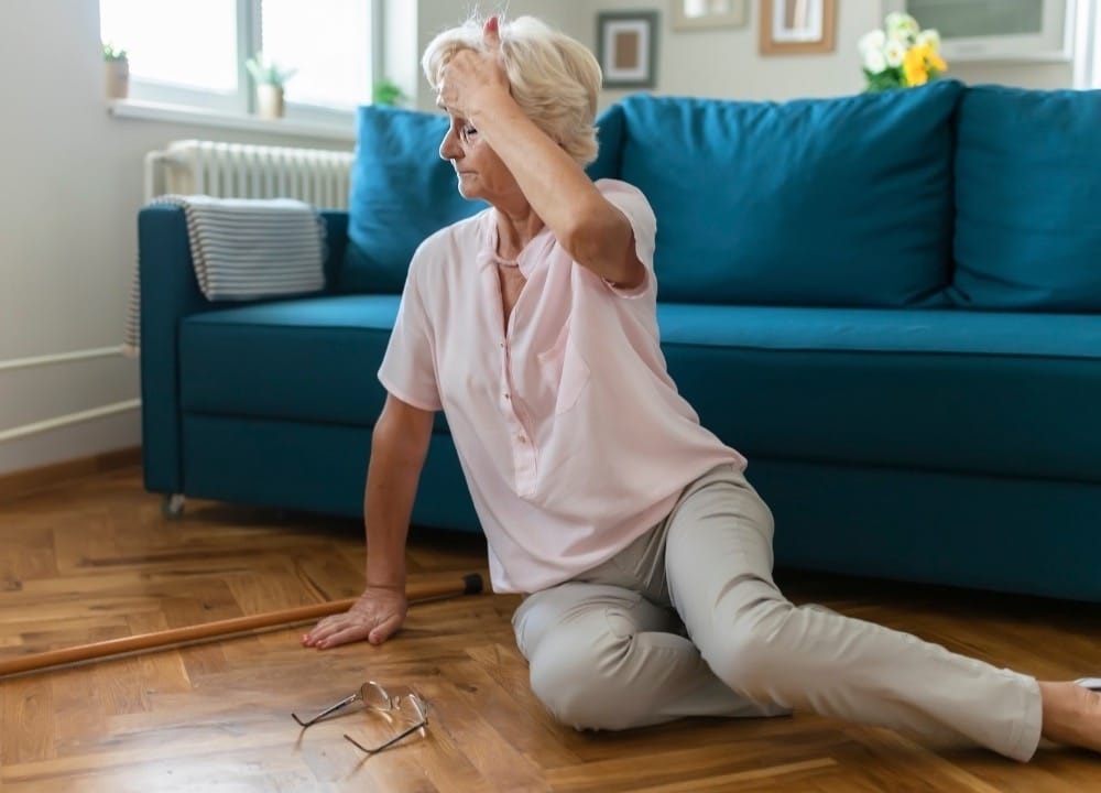 tips for preventing falls for people with dementia
