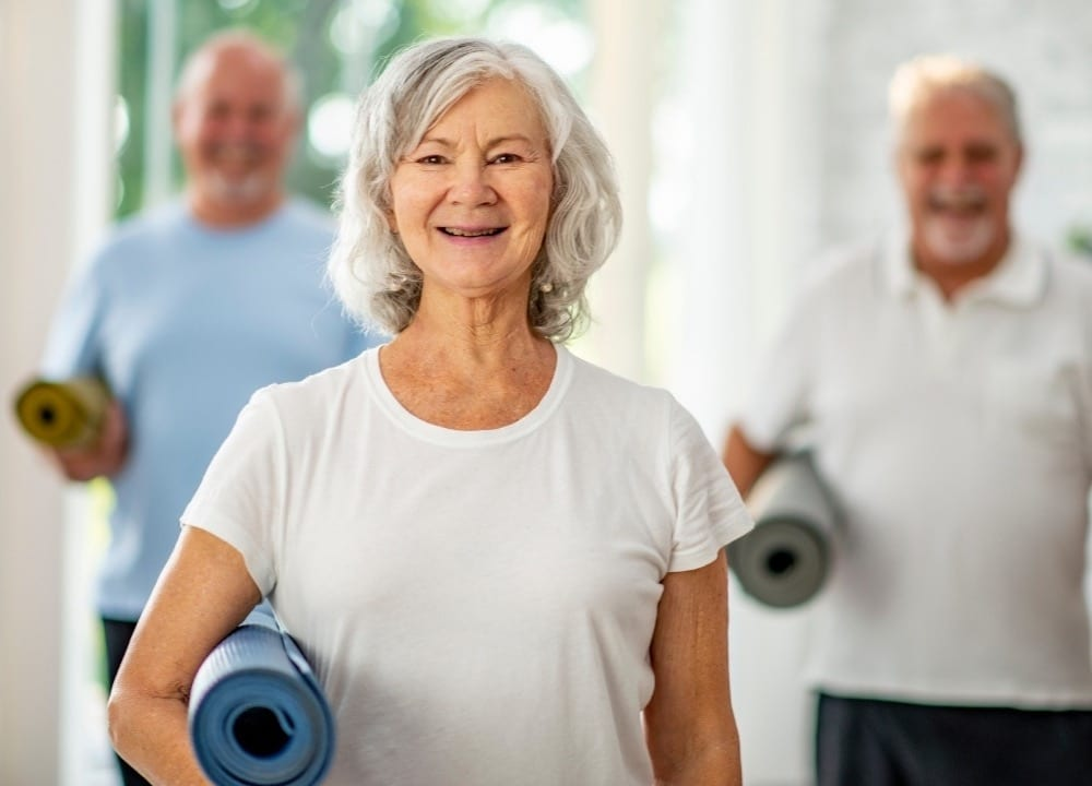 types of yoga poses that can help individuals with dementia