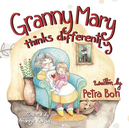granny mary thinks differently kids book