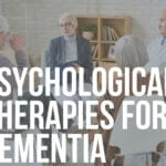 psychological therapies for dementia