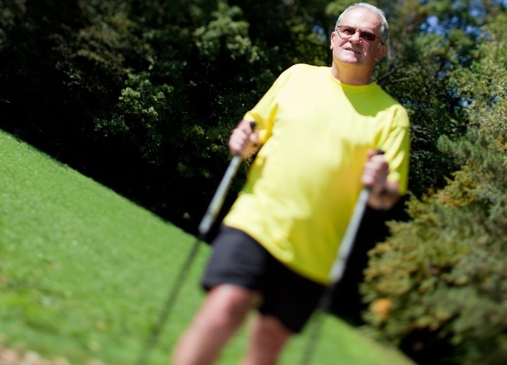 working out to alleviate poor balance in dementia